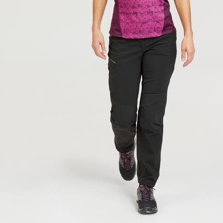f3182809af7 Pantalon de randonnée montagne Femme MH500 Noir. Previous. Next