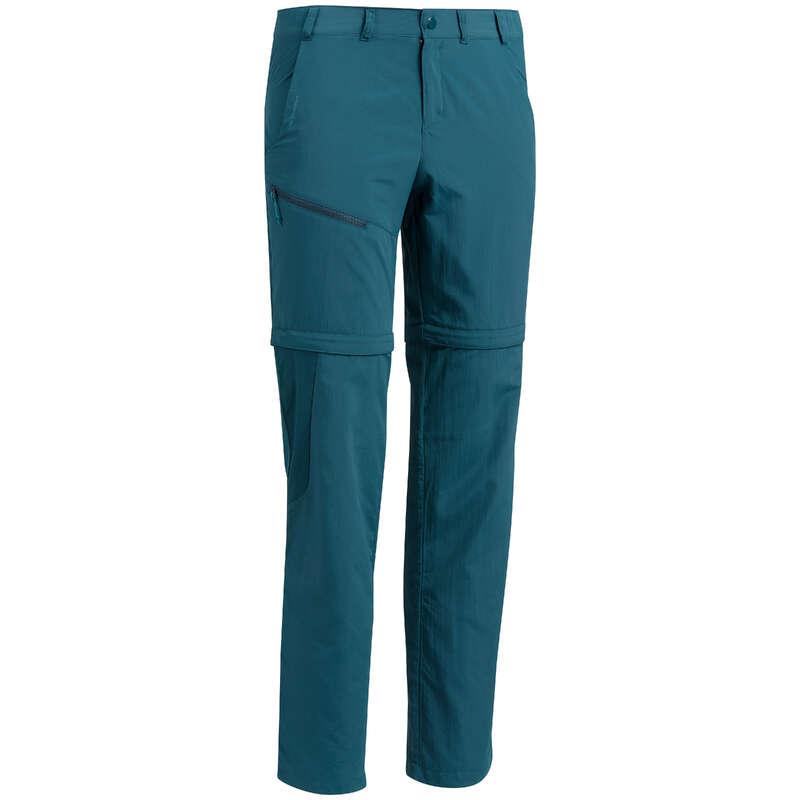 MEN MOUNTAIN HIKING TEE SHIRTS, PANTS Hiking - M Mod Trousers, MH150 - Blue QUECHUA - Hiking Clothes