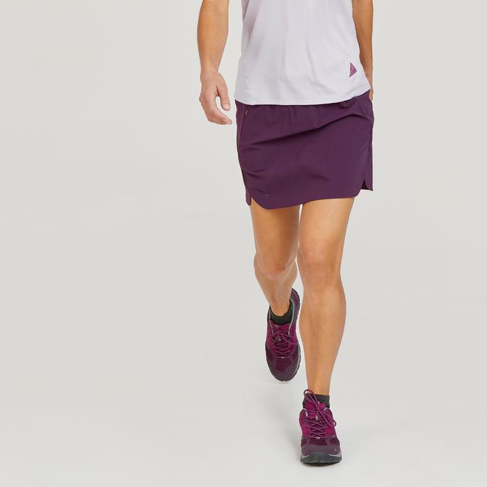 Hosenrock Bergwandern MH500 Damen violett