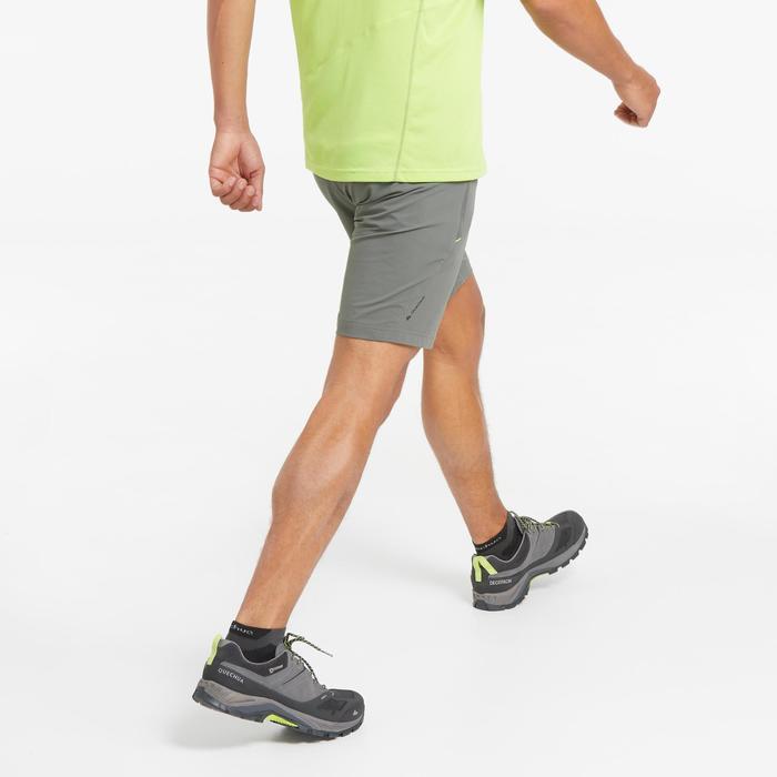 Short de randonnée montagne MH500 court homme kaki