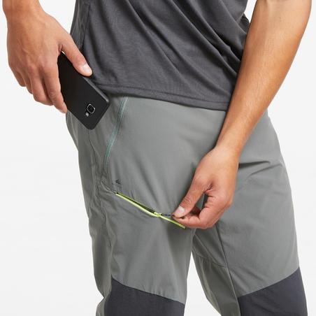 MH500 Men's Walking Trousers - Khaki