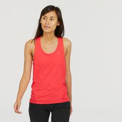 Camiseta Tirantes de Montaña y Trekking Forclaz MH500 Mujer Coral