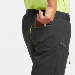 MH500 Men's Long Walking Shorts - Black