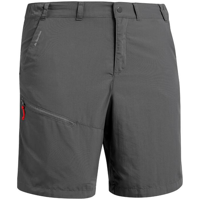 男款登山健行短褲MH100