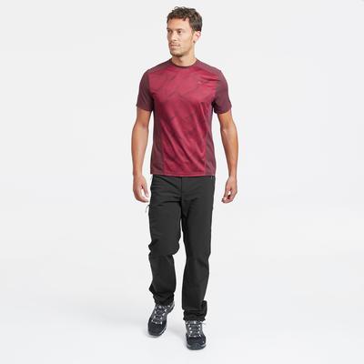 מכנסי גברים MH500 לטיולי הרים - שחור