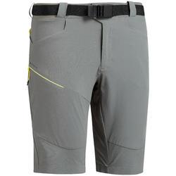 MH500 Mountain Hiking Khaki Long Shorts