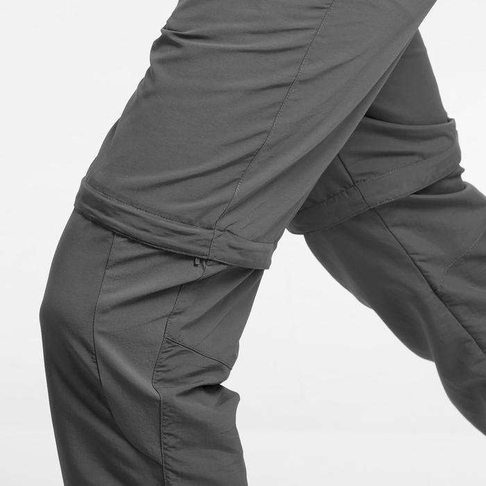 Zip-Off Hose Bergwandern MH150 Herren grau