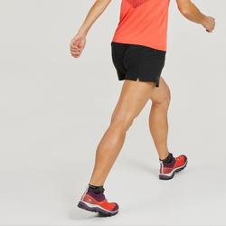 女款極速健行短褲FH500-黑色