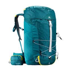 Wandelrugzak voor bergtochten MH100 40 liter blauw