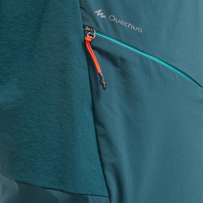 Pantalón Corto de Montaña y Trekking Quechua MH500 Hombre Azul