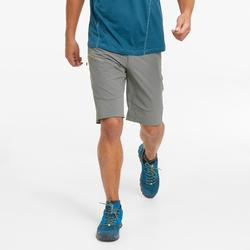 男款長版登山健行短褲MH500