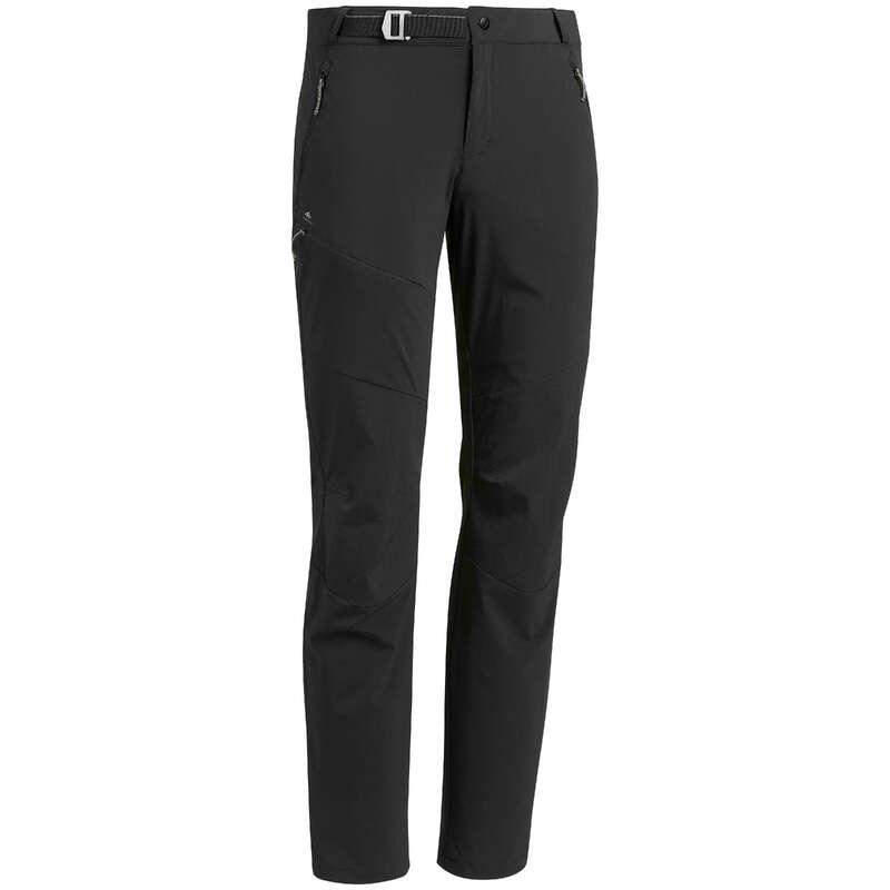 MEN MOUNTAIN HIKING TEE SHIRTS, PANTS Hiking - Men's trousers MH500 - Black QUECHUA - Hiking Clothes