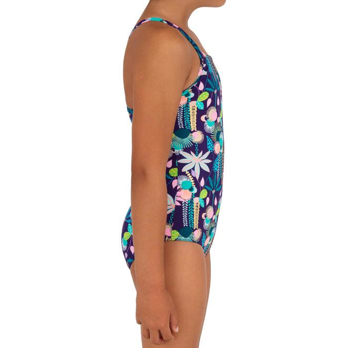 Fato de banho de Surf JUNE HANALEI 100 Menina