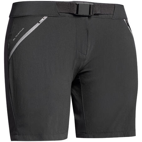 MH500 Women's Mountain Walking Shorts - Black