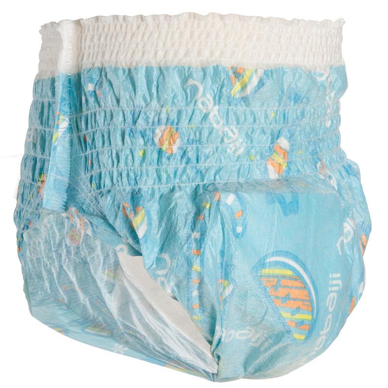 Parte inferior baño desechable para actividades acuáticas para bebés de 11-18 kg