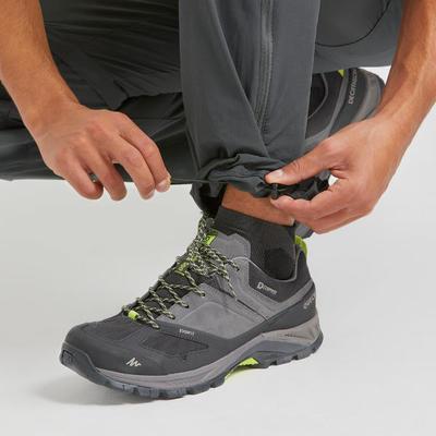 מכנסי גברים מודולריים MH550 לטיולי הרים - בצבע אפור