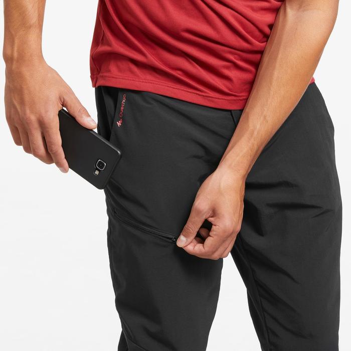 Pantalon de randonnée Montagne MH100 homme noir