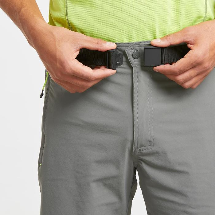 Pantalón corto de senderismo montaña MH500 hombre caqui