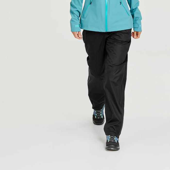 Sobrepantalón impermeable de senderismo montaña - MH500 - Mujer