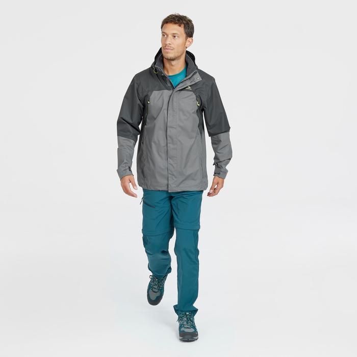 Pantalón Desmontable de Montaña y Trekking Quechua MH150 Hombre Azul