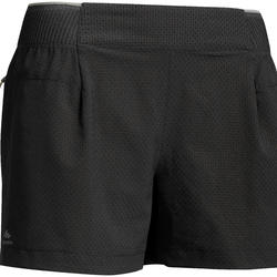 Shorts Speed Hiking FH500 Damen schwarz