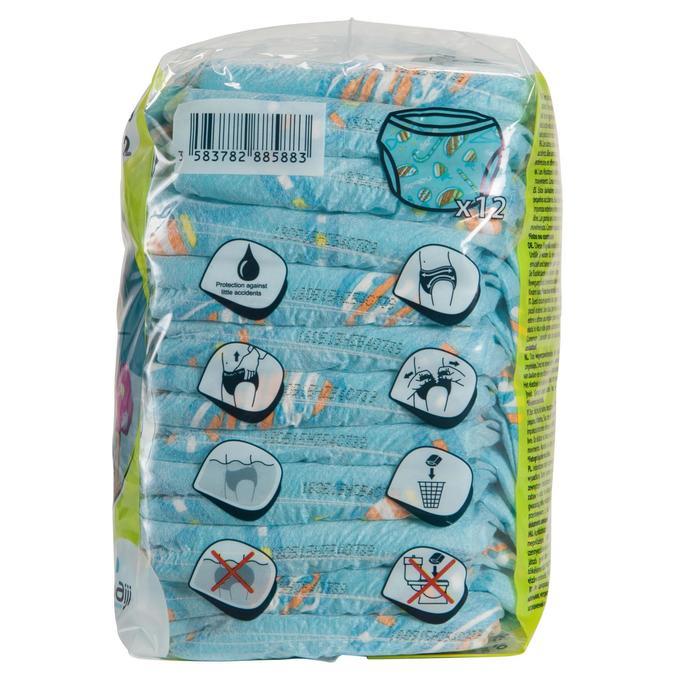 Culottes de bain jetables pour activités aquatiques pour bébés de 11-18 kg - 156872
