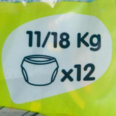 Pañal desechable para actividades acuáticas para bebés de 11-18 kg