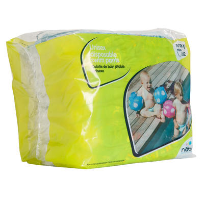 Disposable Swim Pants For Water Activities For Babies 11-18 kg