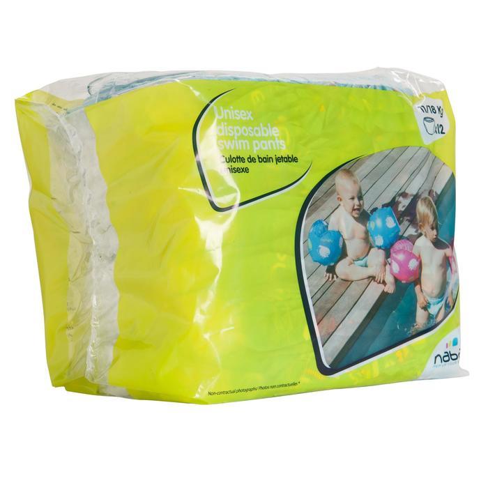 Culottes de bain jetables pour activités aquatiques pour bébés de 11-18 kg - 156875