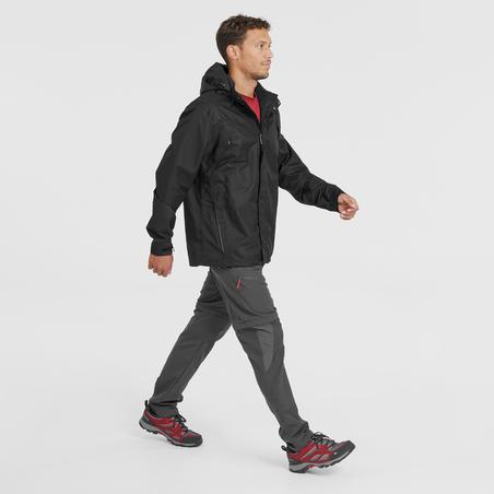 Manteau de randonnée  imperméable MH100 - Hommes