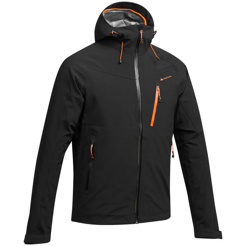 Men's Raincoat MH500 - Black