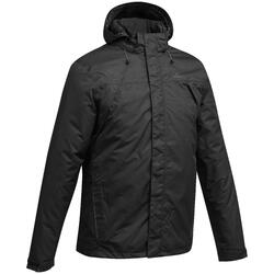 MH100 Men's Waterproof Mountain Hiking Rain Jacket - Black
