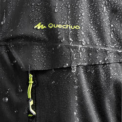 Veste pluie randonnée montagne MH900 imperméable homme Noire