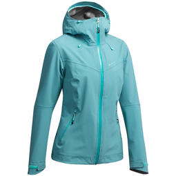 Women's Mountain Hiking Waterproof Jacket Quechua Decathlon