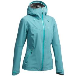 MH500 Women's Waterproof Mountain Walking Jacket - Blue Grey