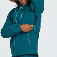 MH500 Men's Waterproof Mountain Hiking Rain Jacket - Dark Blue