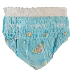 Culottes de bain jetables pour activités aquatiques pour bébés de 6-12 kg