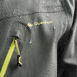 Waterdichte wandeljas MH500 heren grijs/kaki