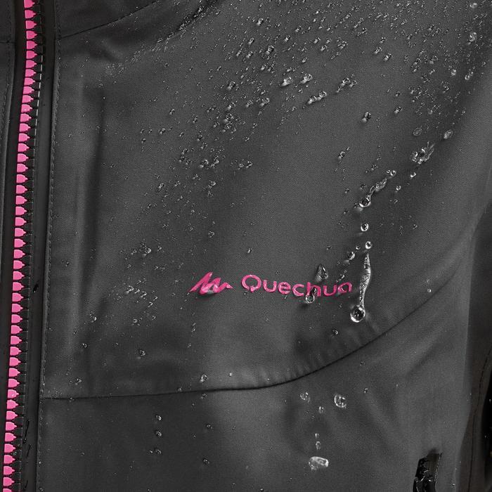 Waterdichte wandeljas voor bergtochten dames MH900 zwart