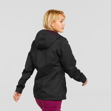 MH100 Waterproof Mountain Hiking Jacket - Women