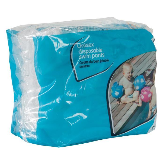 Wegwerpluiers voor wateractiviteiten voor baby's van 11-18 kg.