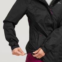 Manteau de randonnée imperméableMH100 - Femmes