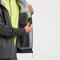 MH900 Men's Waterproof Mountain Hiking Rain Jacket - Black