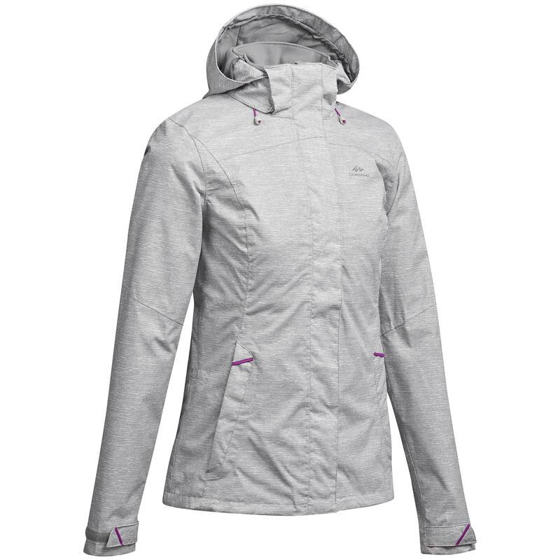 Regenjas voor bergwandelen dames MH100
