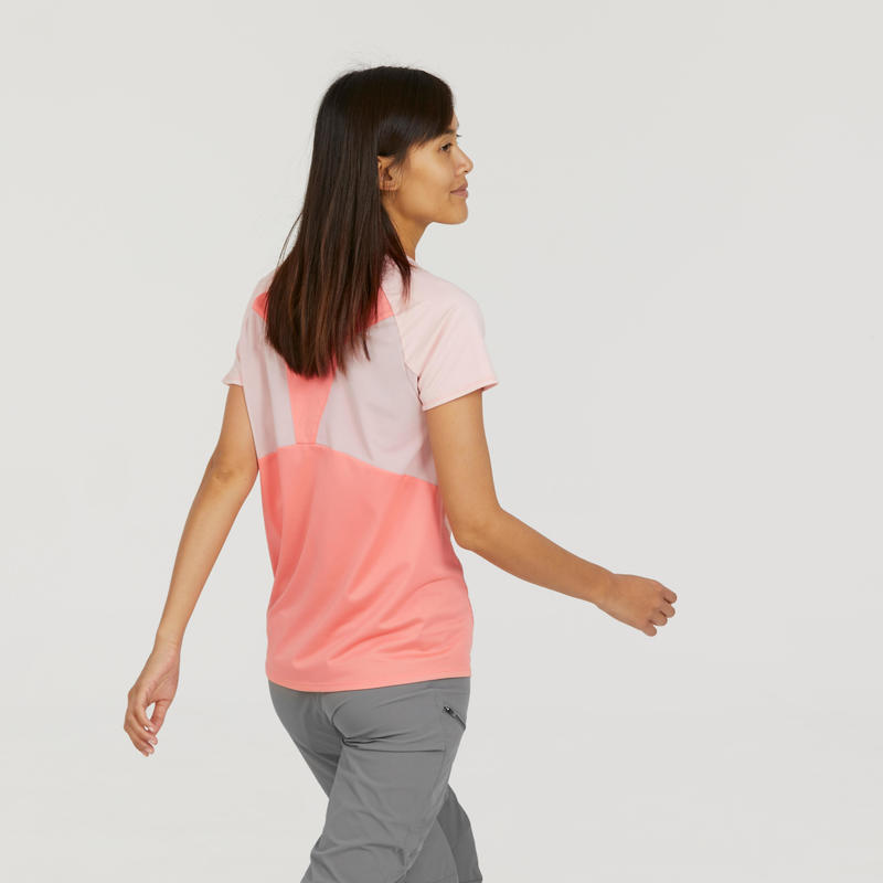 Women's T shirt MH500 - Salmon