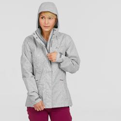 MH100 Women's Waterproof Jacket - Heather/Pink
