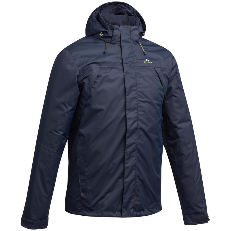 50% off classic styles innovative design MH100 Men's Waterproof Mountain Hiking Rain Jacket - Blue