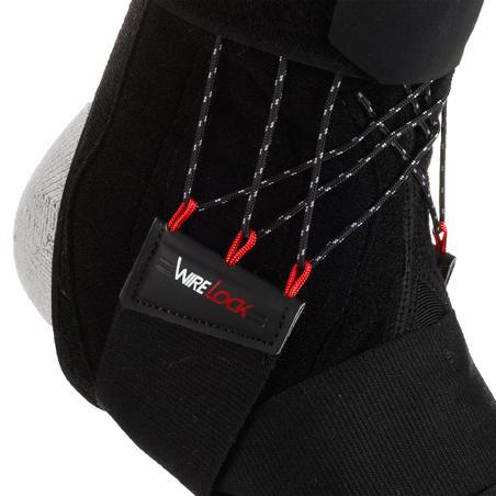 Men's/Women's Right/Left Ankle Support Strong 900 - Black