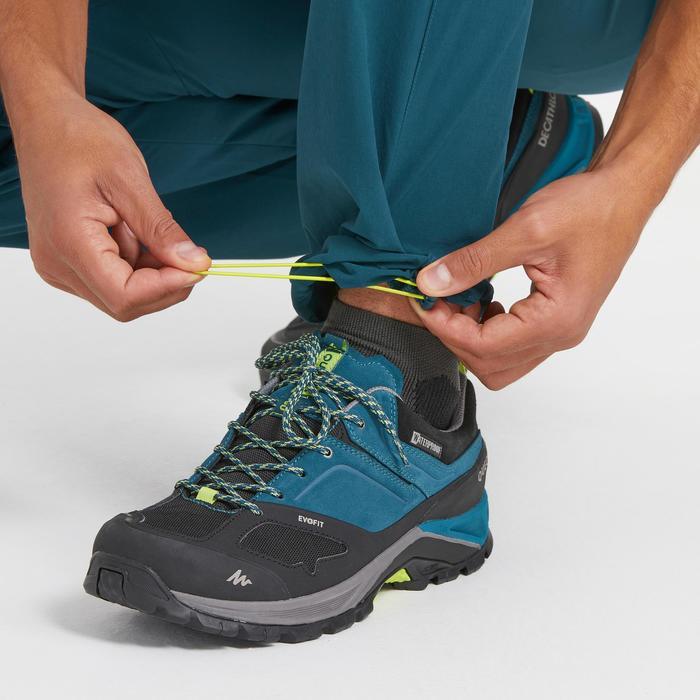 Pantalon de randonnée montagne MH500 homme bleu