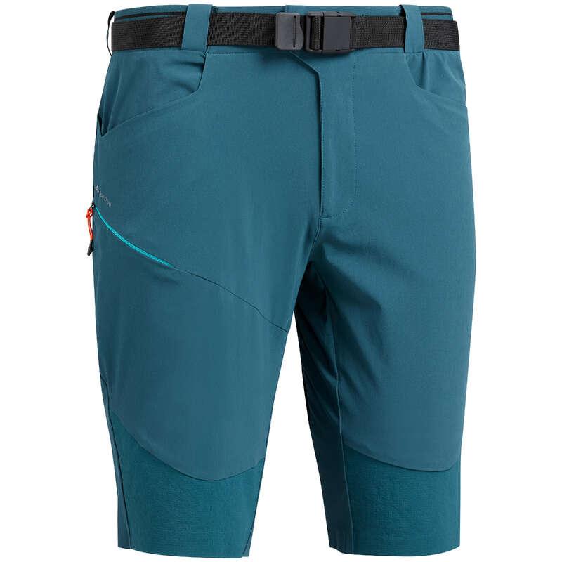 Wandershorts, -shirts Herren Bergwandern Wandern - Wandershorts MH500 knielang QUECHUA - Wanderhosen, Shorts und Röcke